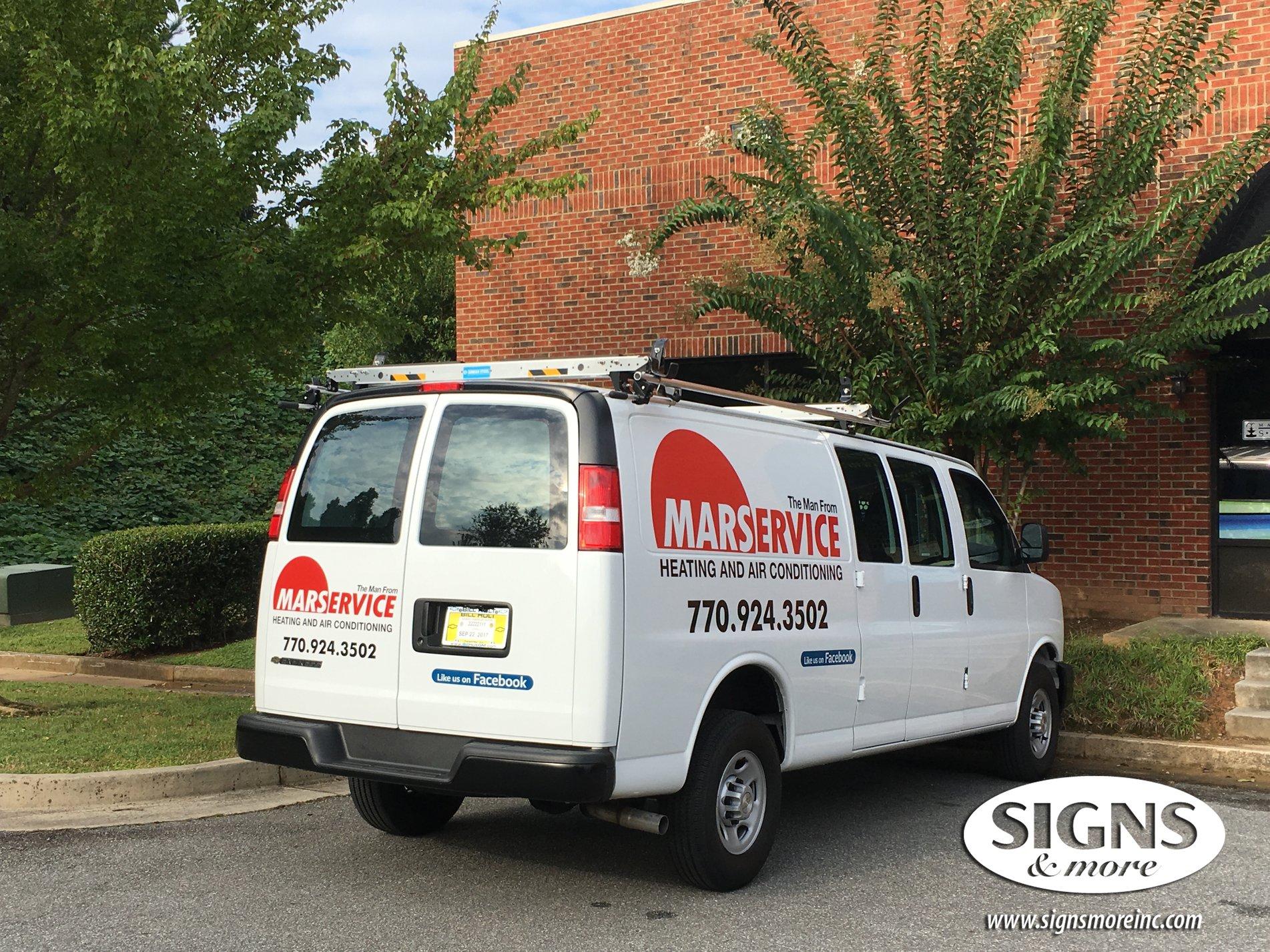 Honda Rome Ga >> Vehicle Wrap Gallery by Signs & More, Inc - Cartersville, Marietta, GA