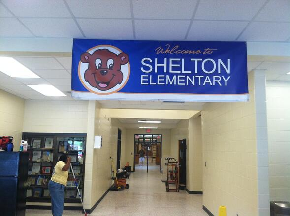 Welcome Banners for Schools in Atlanta