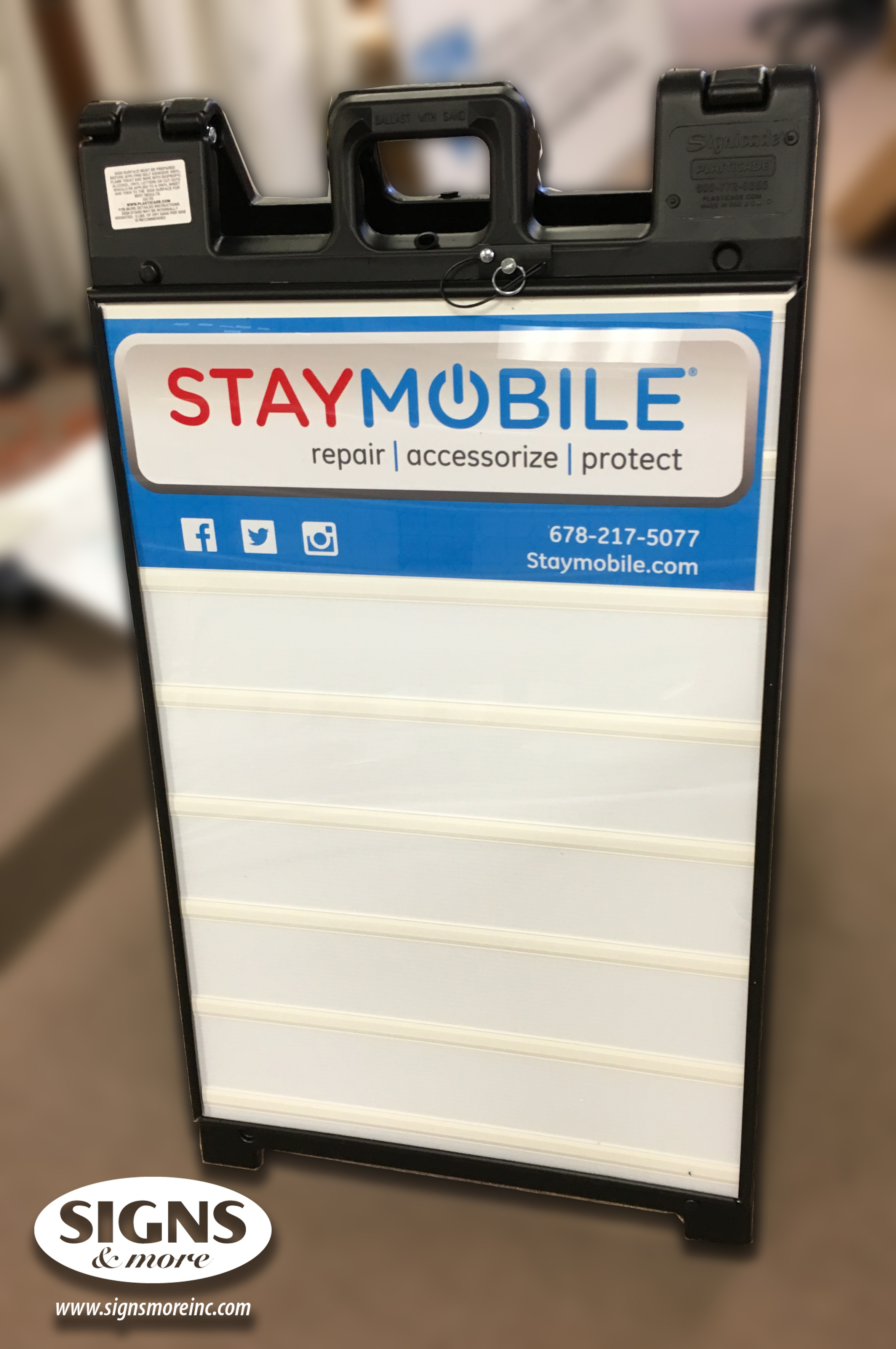 Stay Mobile - A Frame Sign - Changeable Letter Sign (2a).jpg