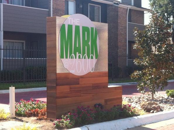 Apartment Community Signage Marietta GA