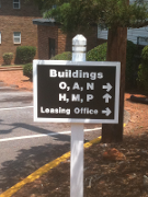 Wayfinding and Directory Signs for Apartment Complexes in Georgia