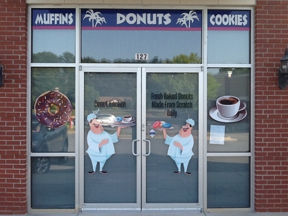 Window Graphics for New Businesses in Georgia