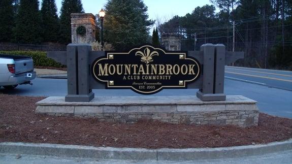 Atlanta Subdivision Monument Signs