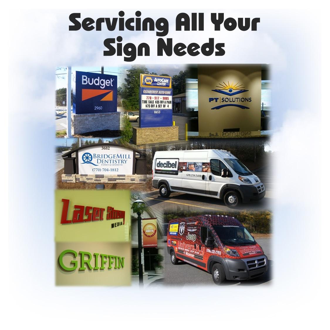 Signs Amp More Inc Atlanta Ga Custom Sign Manufacturing